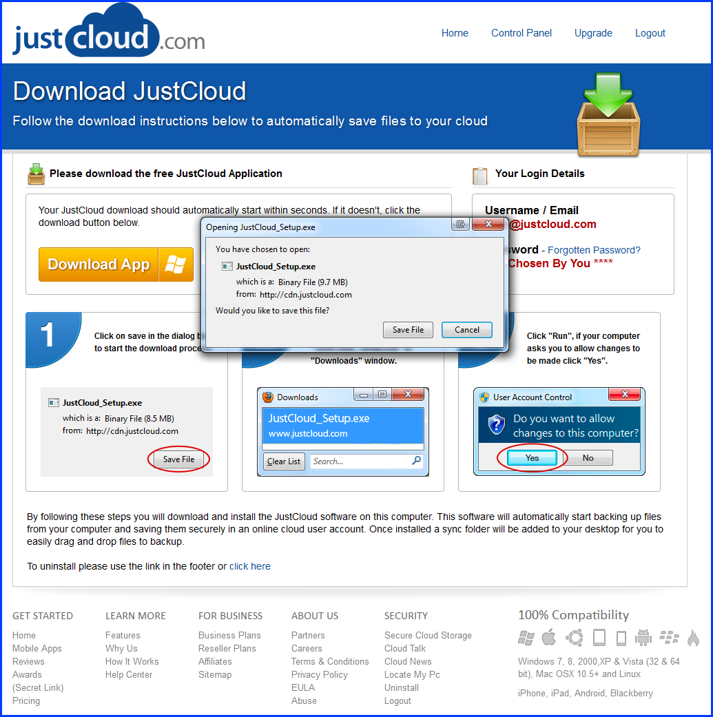 Transferring Your Cloud Storage License in 4 Easy Steps :: JustCloud